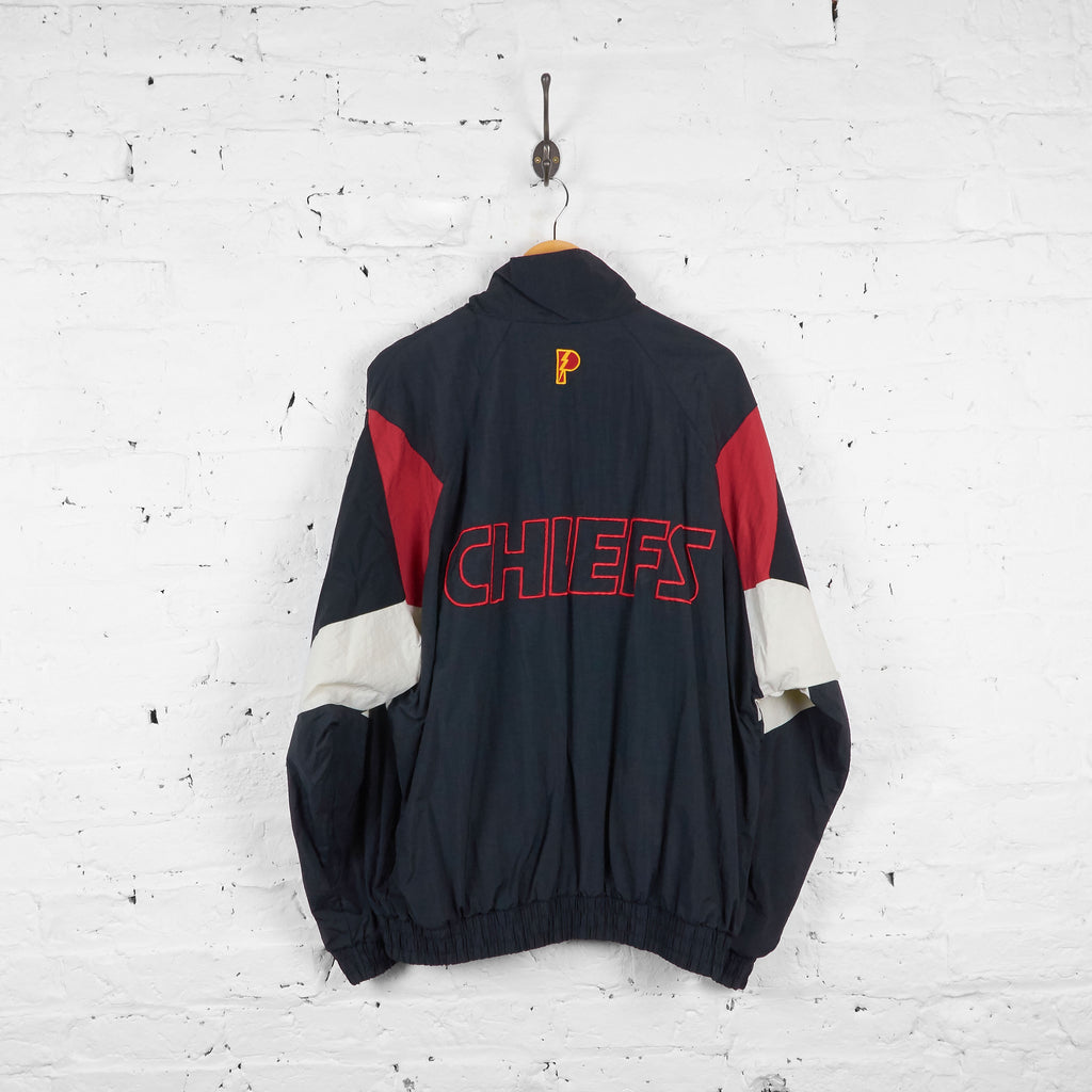 Vintage Kansas City Chief's American Football NFL Jacket - Black/Red - XL