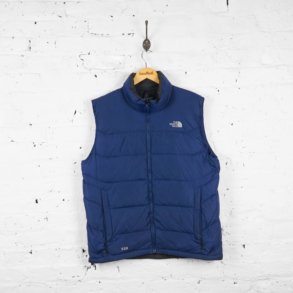 Vintage The North Face Gilet - Navy - L