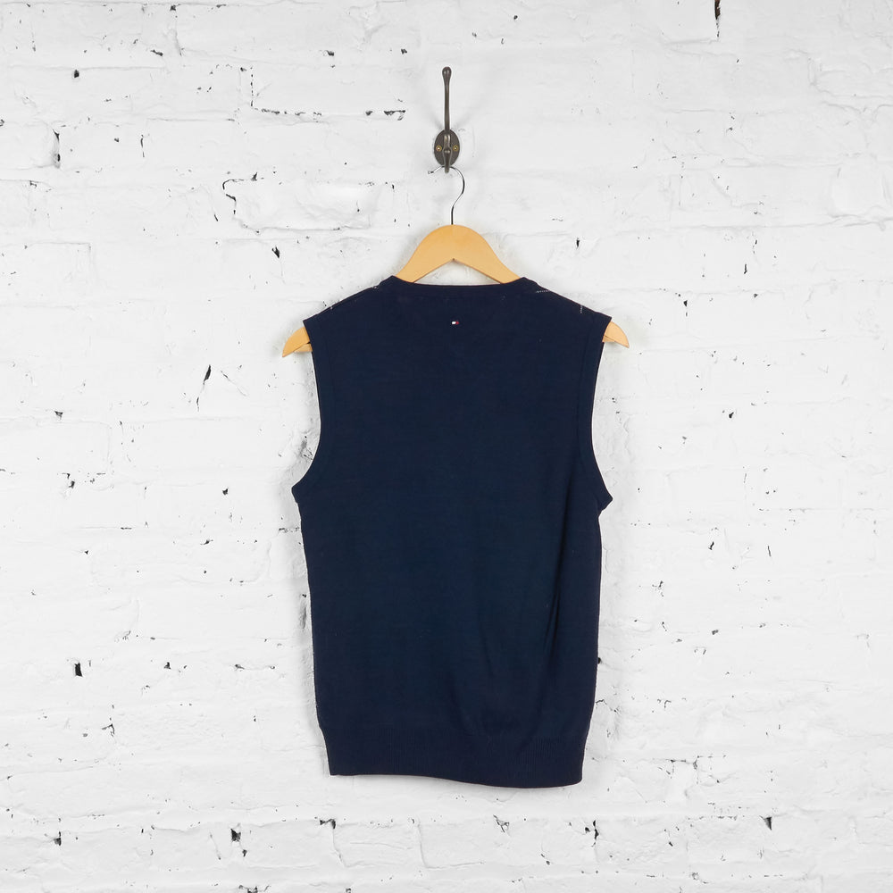 Vintage Tommy Hilfiger Golf Sweater Vest - Navy - M