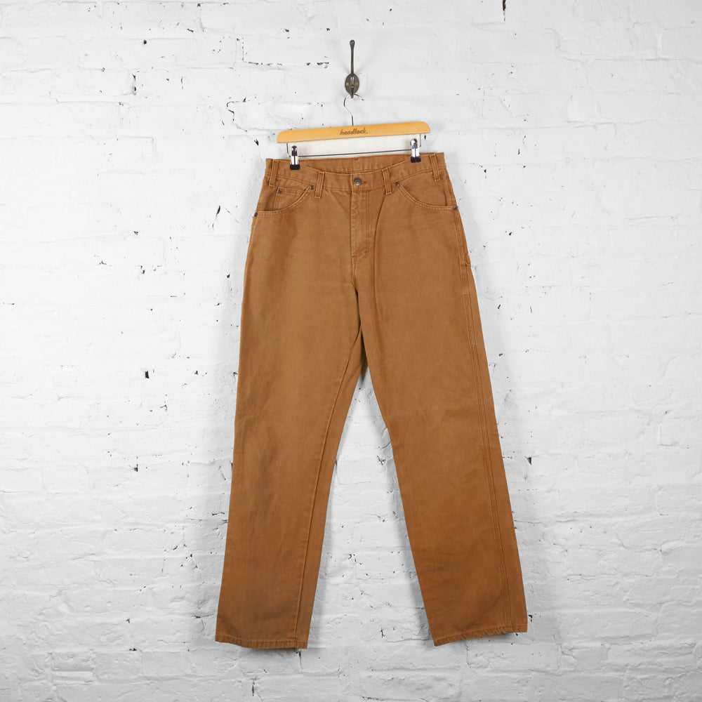 Vintage Dickies Cargo Jeans - Brown - L