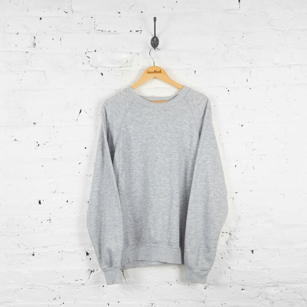 Vintage Lee Sweatshirt - Grey - L