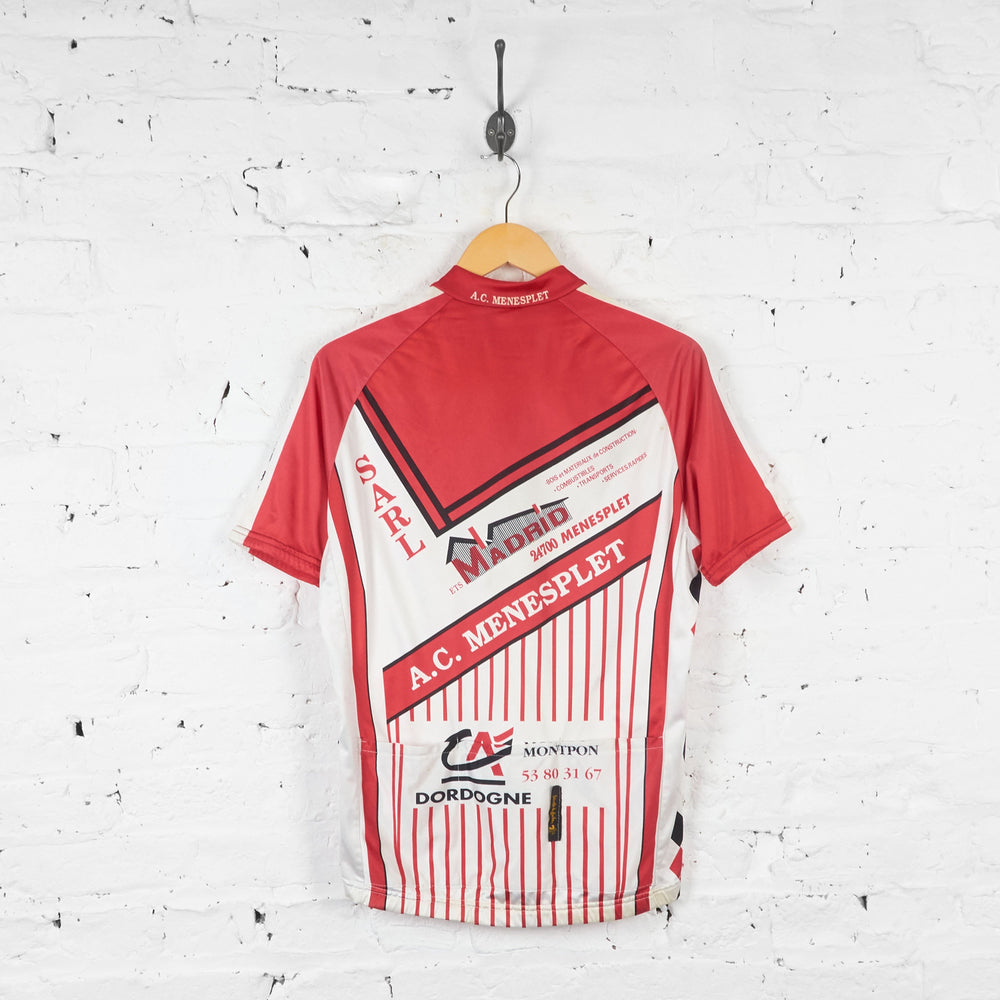 AC Menesplet Cycling Jersey - Red/White - L