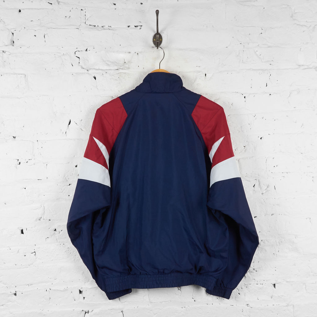 Adidas Shell Tracksuit Top Jacket - Blue - M - Headlock