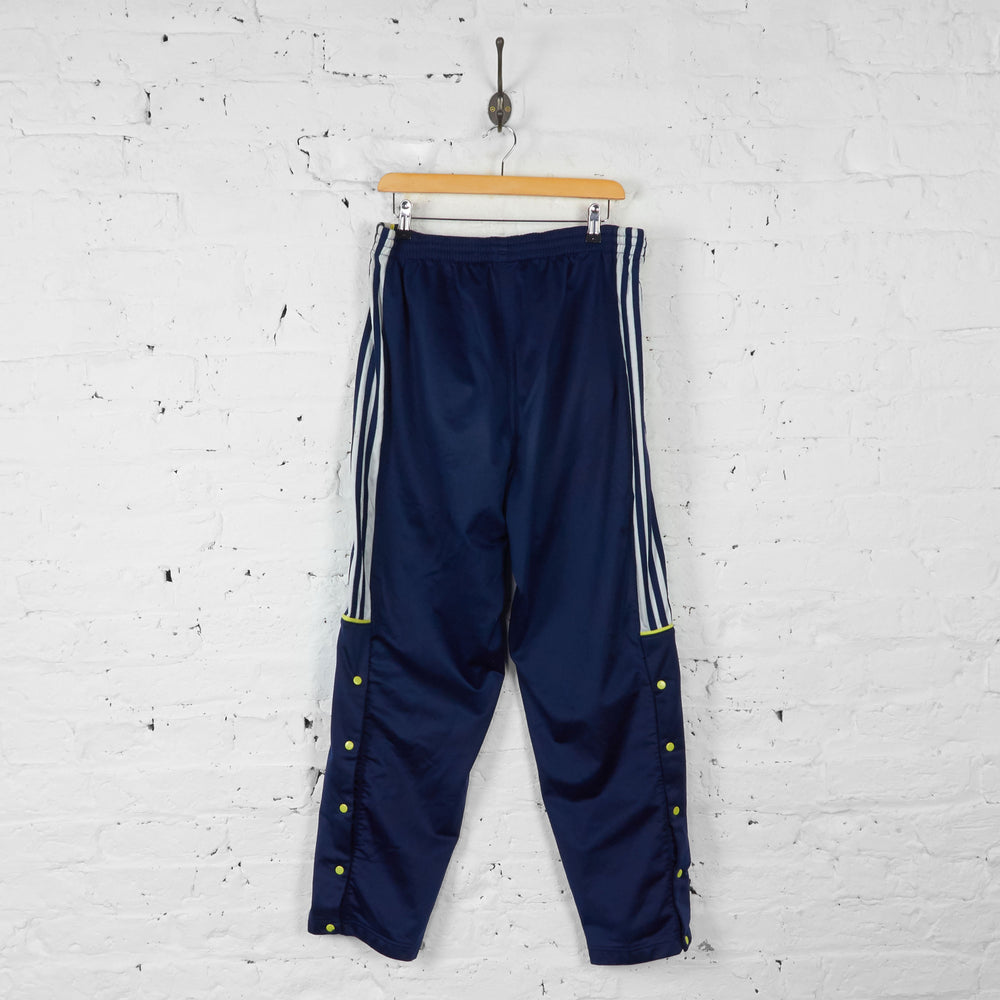 Adidas Tracksuit Bottoms - Blue - L - Headlock