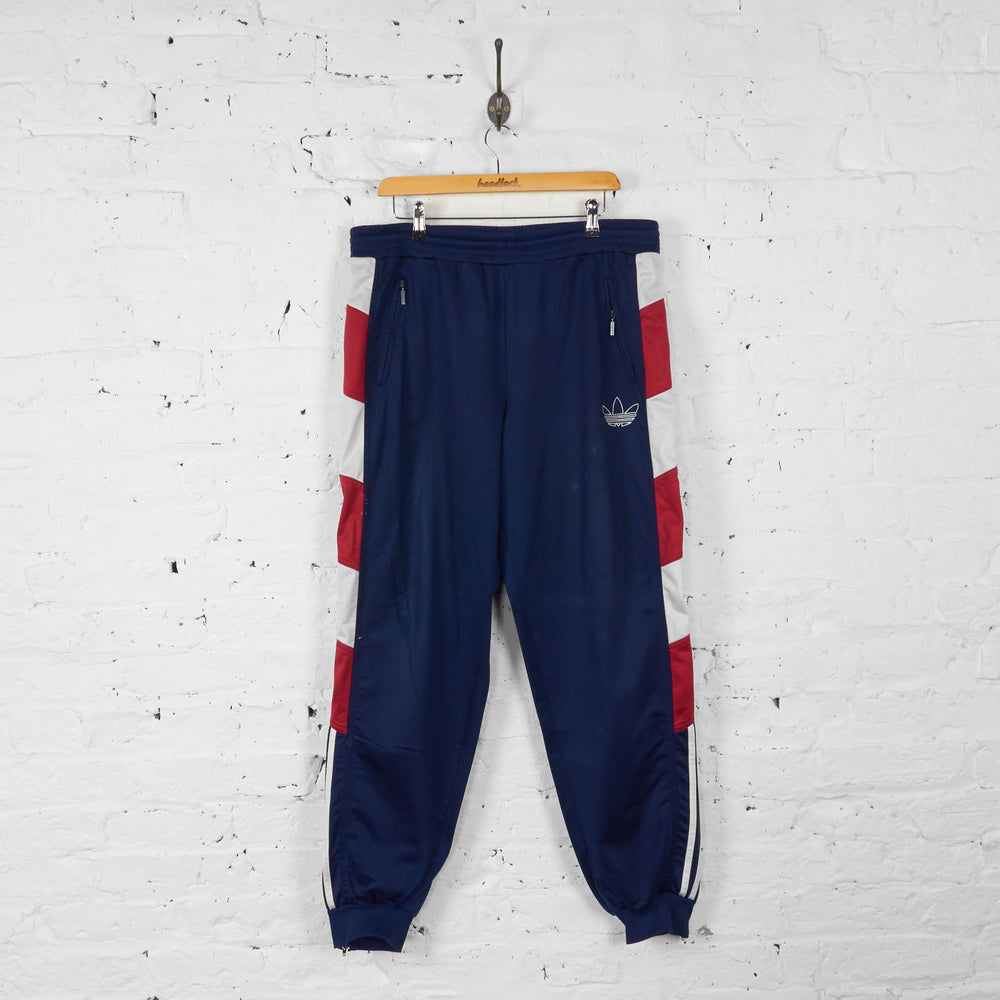 Adidas Tracksuit Bottoms - Blue - XL - Headlock
