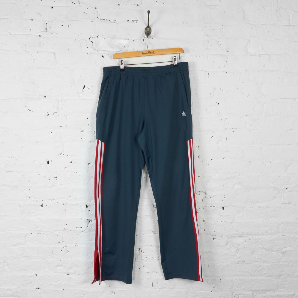 Adidas Tracksuit Bottoms - Grey - XL - Headlock