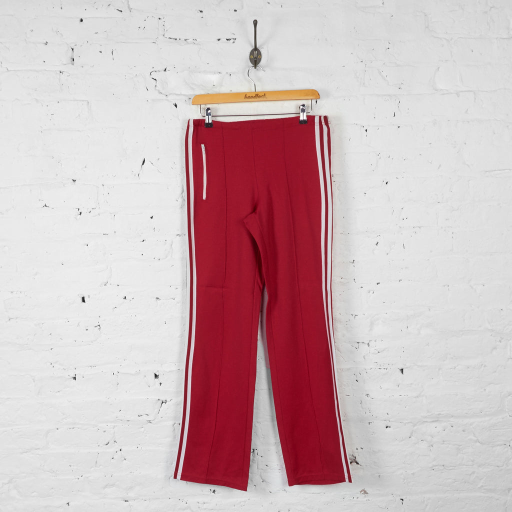 Adidas Tracksuit Bottoms - Red - S - Headlock