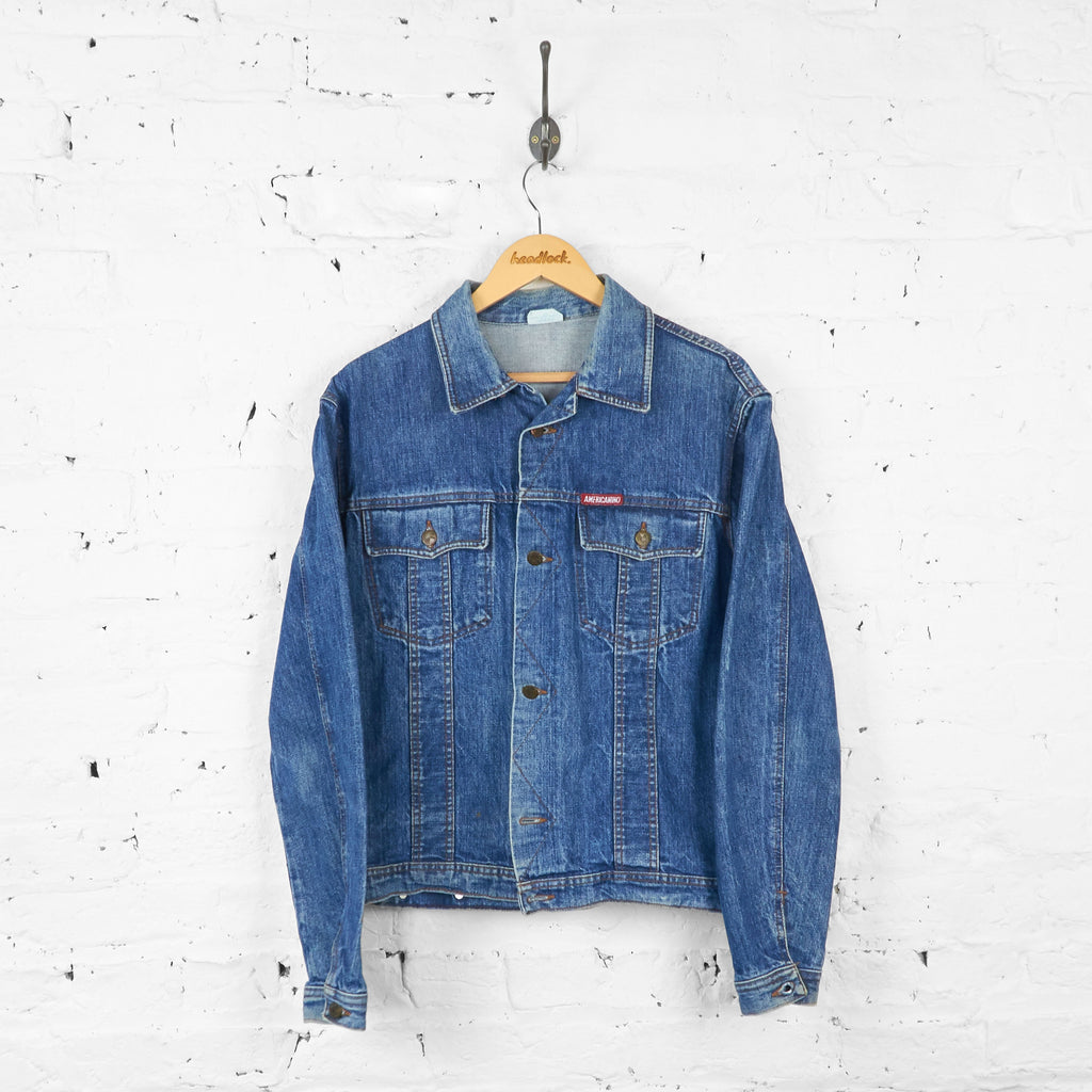 Americanino Denim Jacket - Blue - L - Headlock