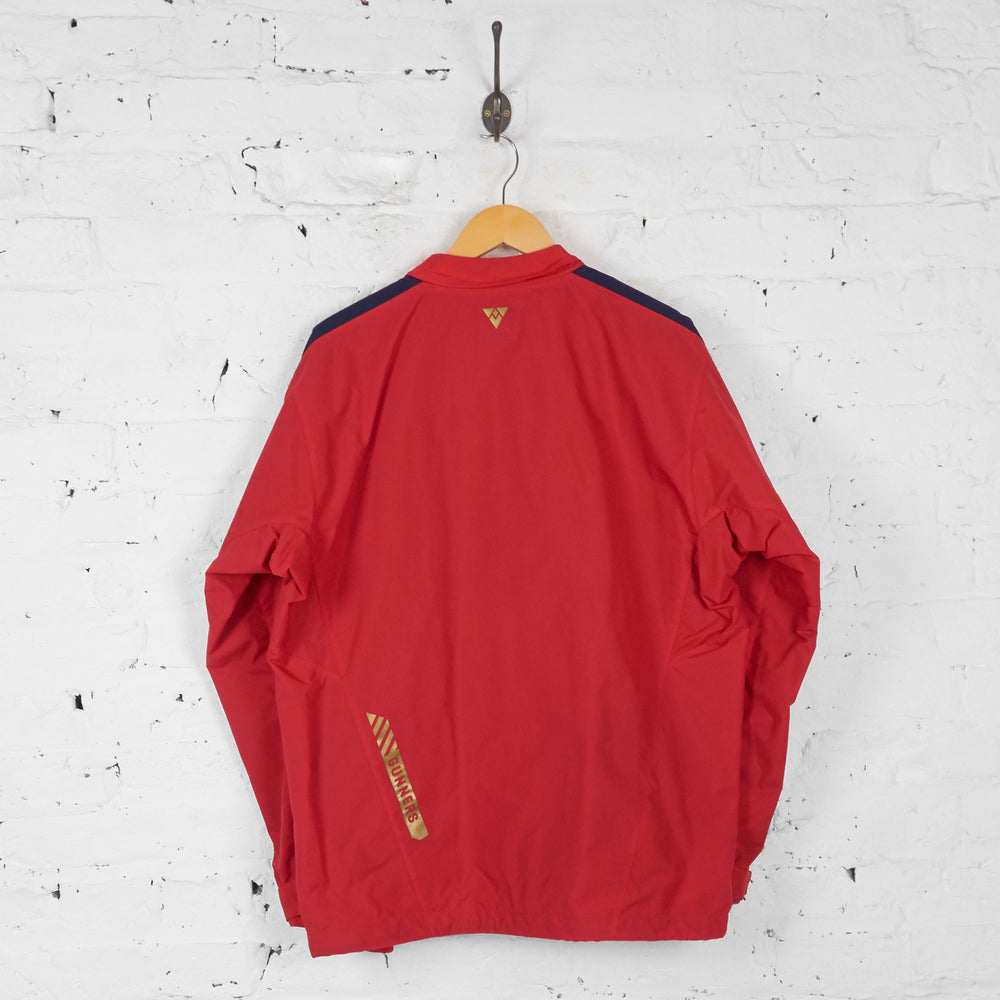 Arsenal Puma Training Shell Tracksuit Top Jacket - Red - L - Headlock