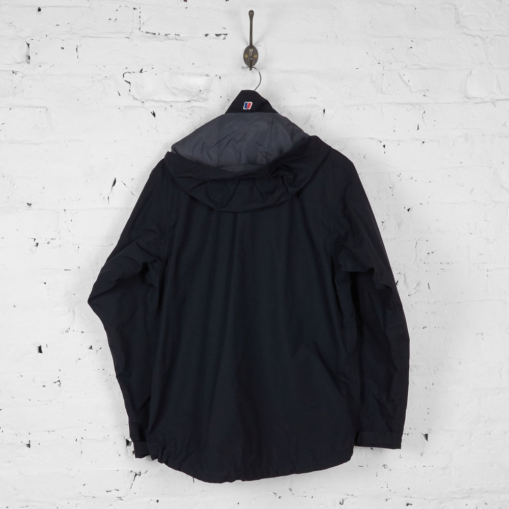 Berghaus AQ2 Rain Jacket - Black - M - Headlock