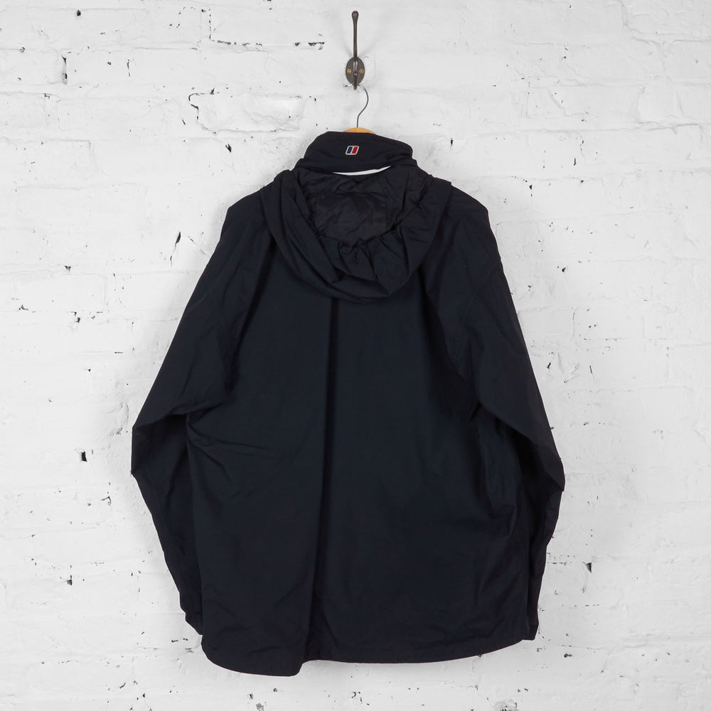Berghaus Aquafoil Rain Jacket - Black - XXL - Headlock