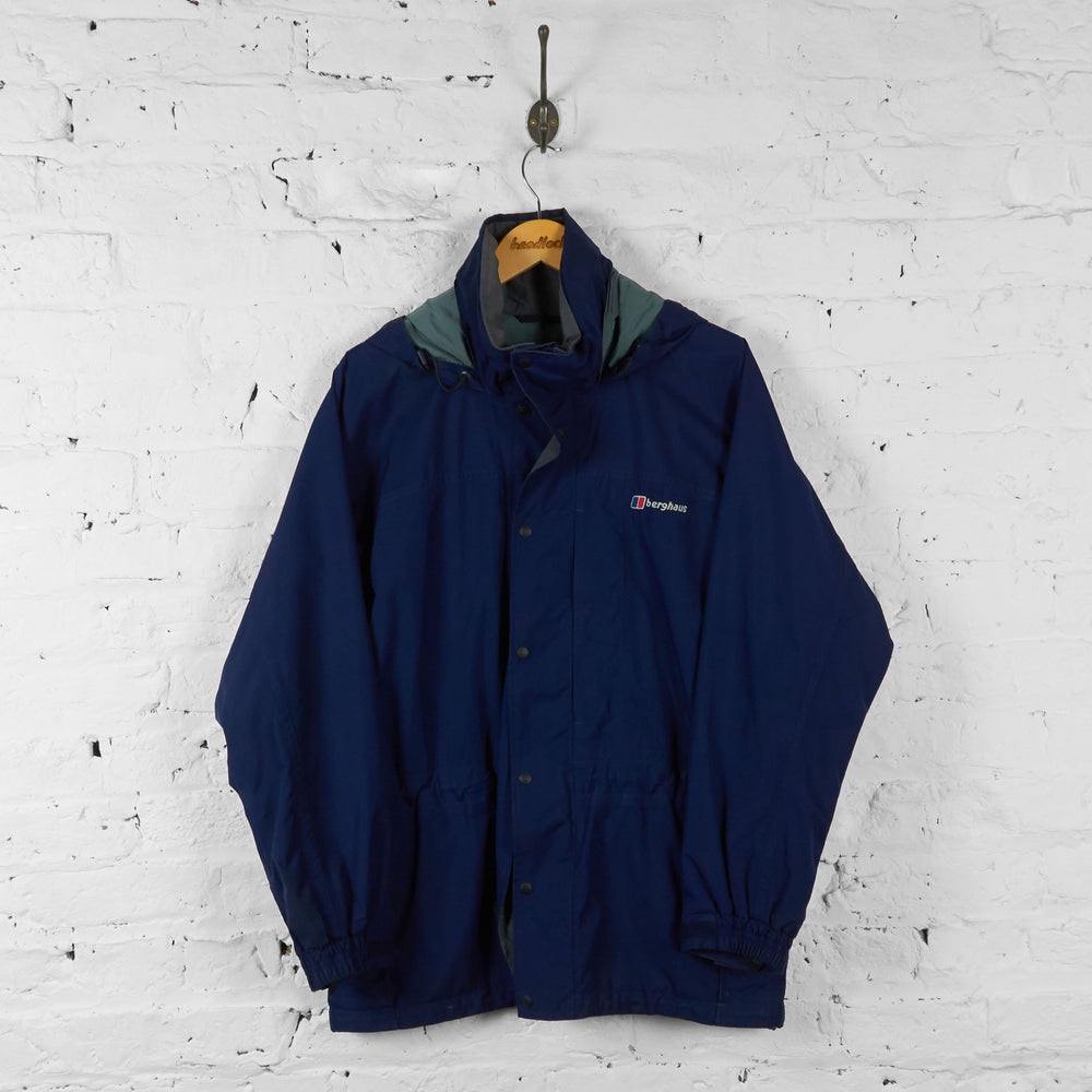 Berghaus Aquafoil Rain Jacket - Blue - S - Headlock