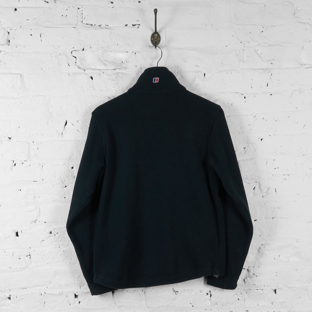 Berghaus Full Zip Fleece Jacket - Black - S - Headlock
