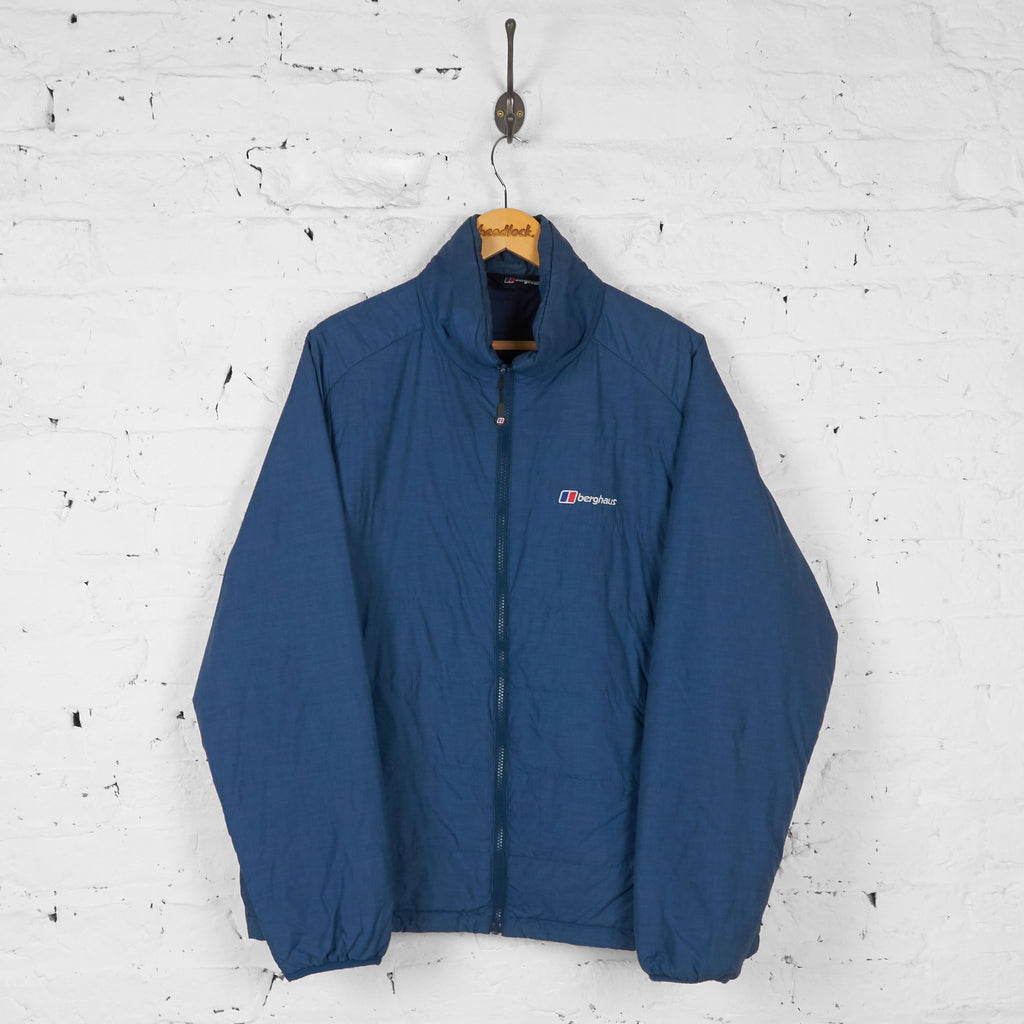 Berghaus Quilted Jacket - Blue - XL - Headlock