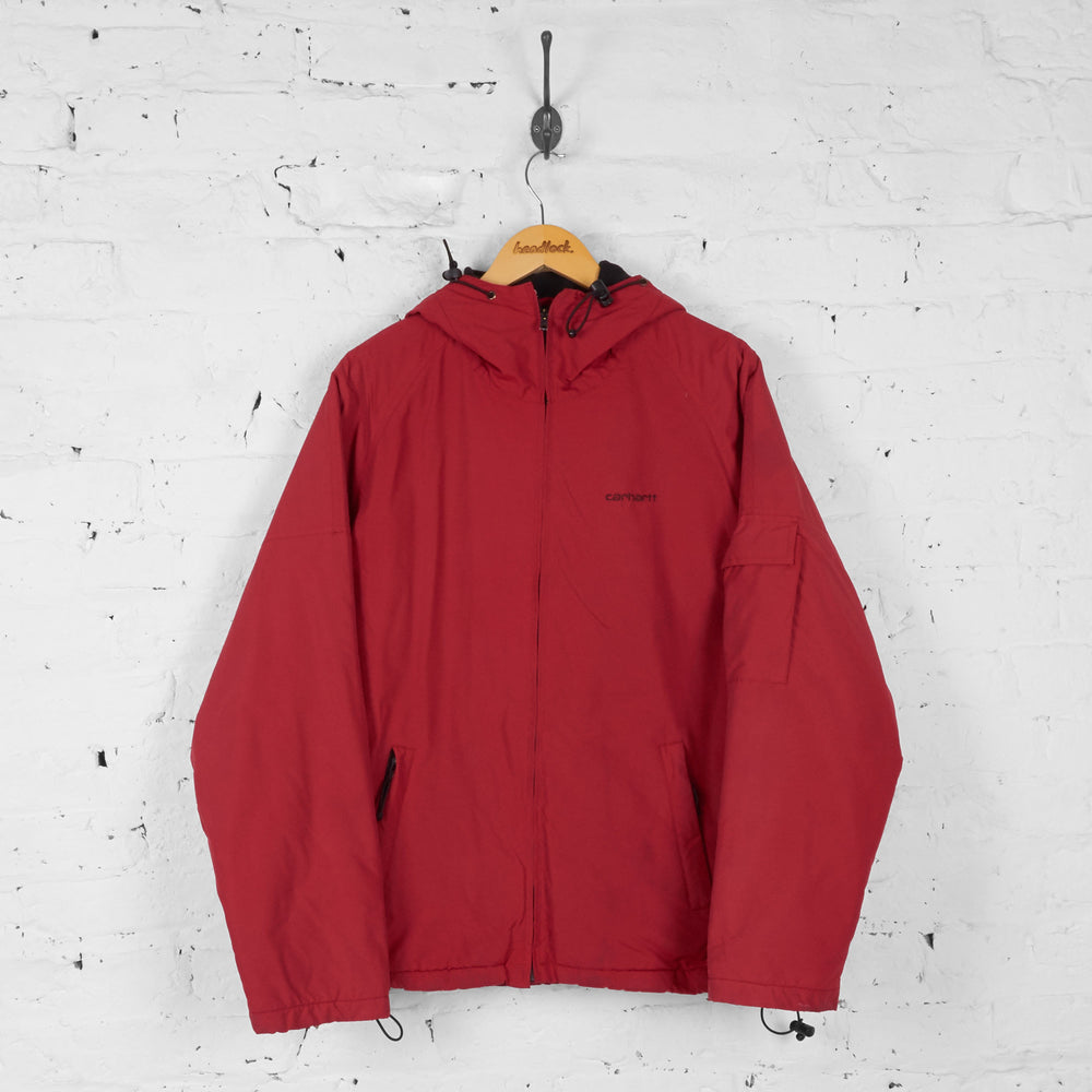 Carhartt Hooded Jacket - Red - M - Headlock