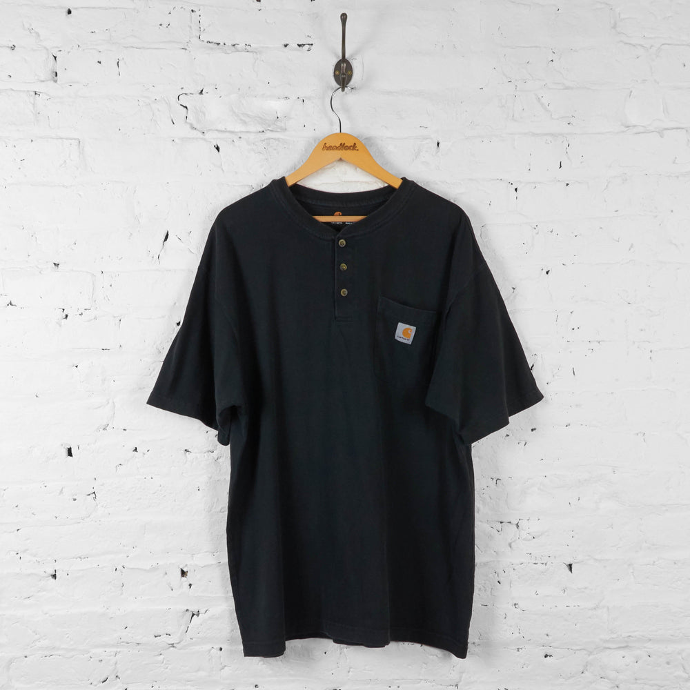 Carhartt Pocket T Shirt - Black - XL - Headlock