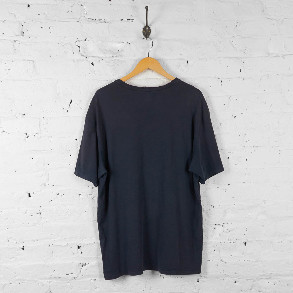 Carhartt Pocket T Shirt - Blue - XL - Headlock