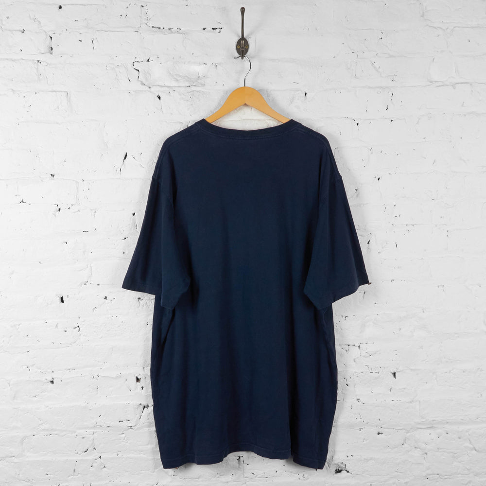 Carhartt Pocket T Shirt - Blue - XXL - Headlock