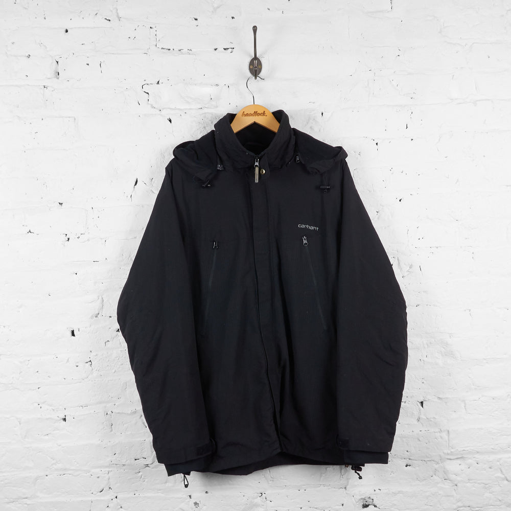 Carhartt Rain Jacket - Black - XL - Headlock