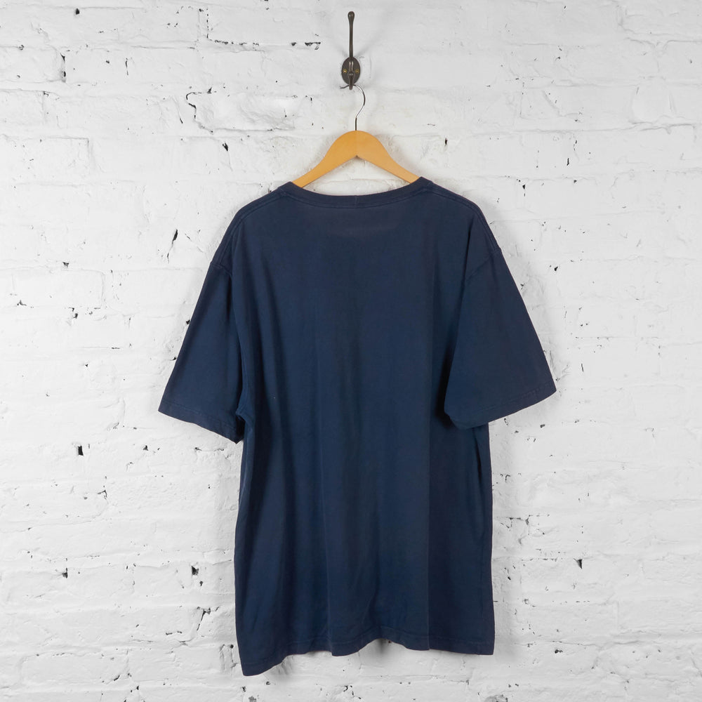 Carhatt Pocket T Shirt - Blue - XL - Headlock