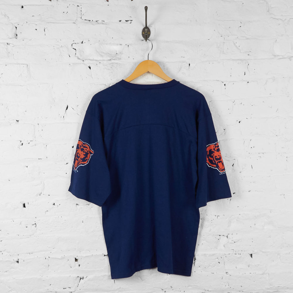 Chicago Bears NFL American Football Jersey Shirt - Blue - L - Headlock