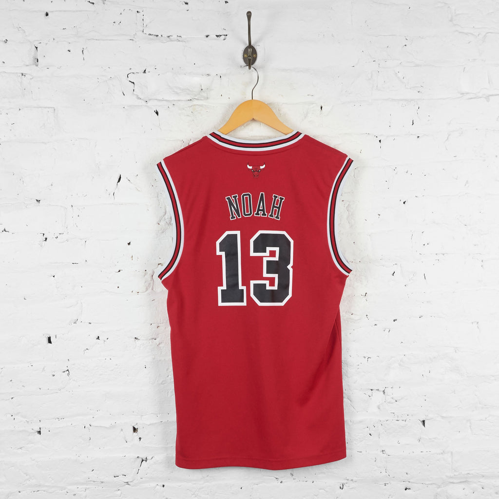 Chicago Bulls Noah Adidas Basketball Jersey Vest - Red - S - Headlock