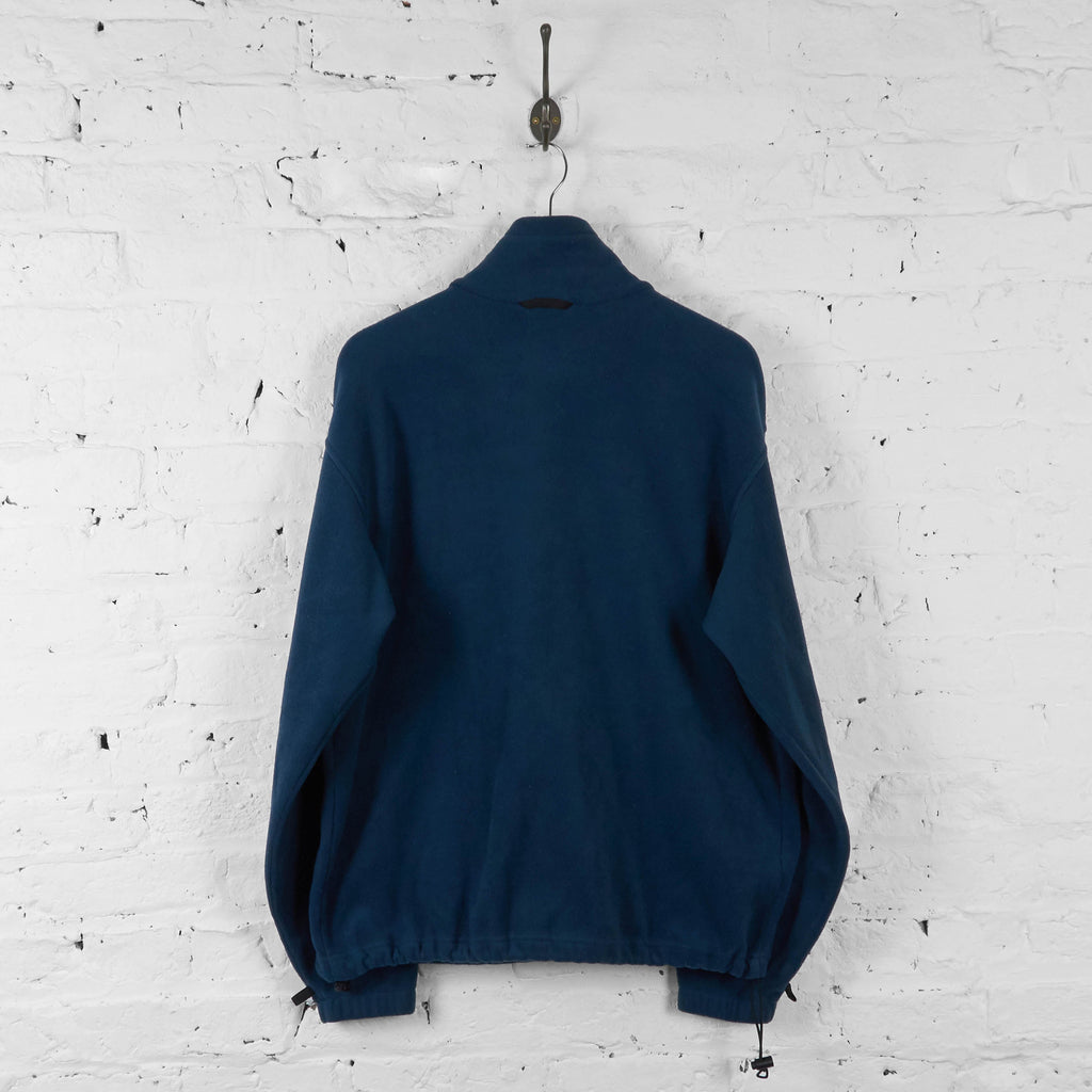 Columbia Full Zip Fleece Jacket - Blue - L - Headlock