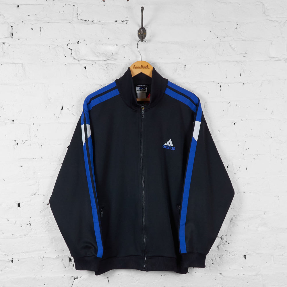 Copy of Vintage Adidas Tracksuit Top - Black/Blue - L - Headlock
