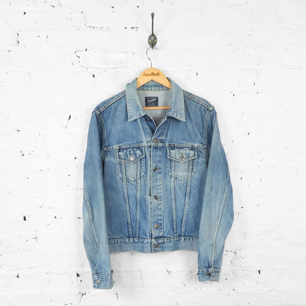 Denim Jacket - Blue - L - Headlock