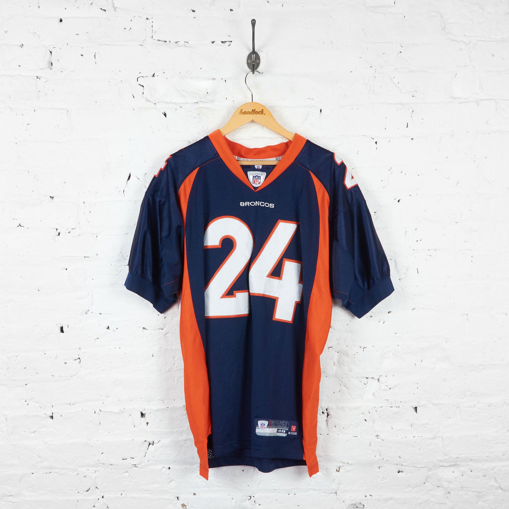Denver Broncos Bailey NFL American Football Jersey - Blue - XL - Headlock
