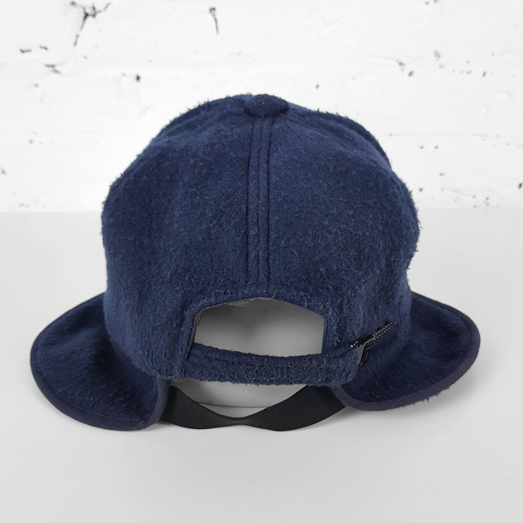 Diadora Fleece Ski Cap - Blue - Headlock