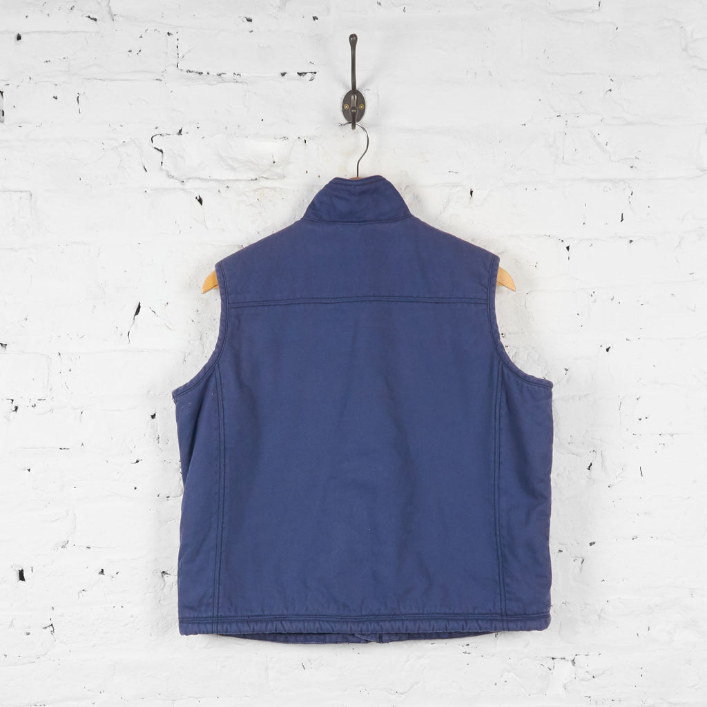 Dickies Bodywarmer Gilet Jacket - Blue - L - Headlock
