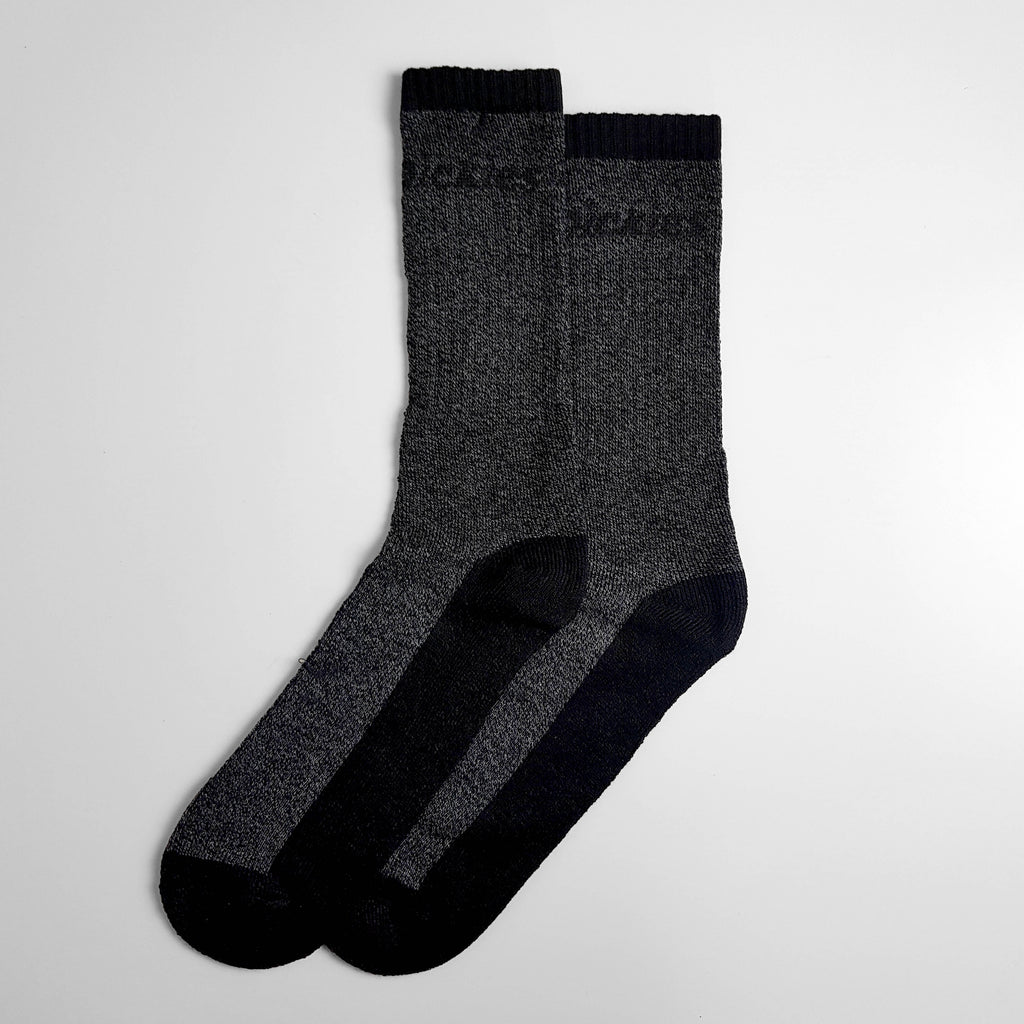 Dickies Thermal Socks Two Pack - Black/Grey - 6-11 - Headlock