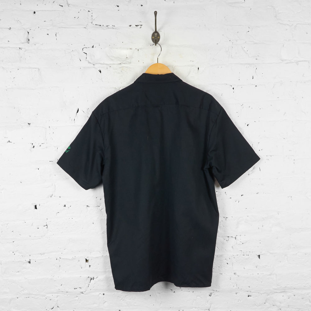 Dickies Utility Work Shirt - Black - L - Headlock