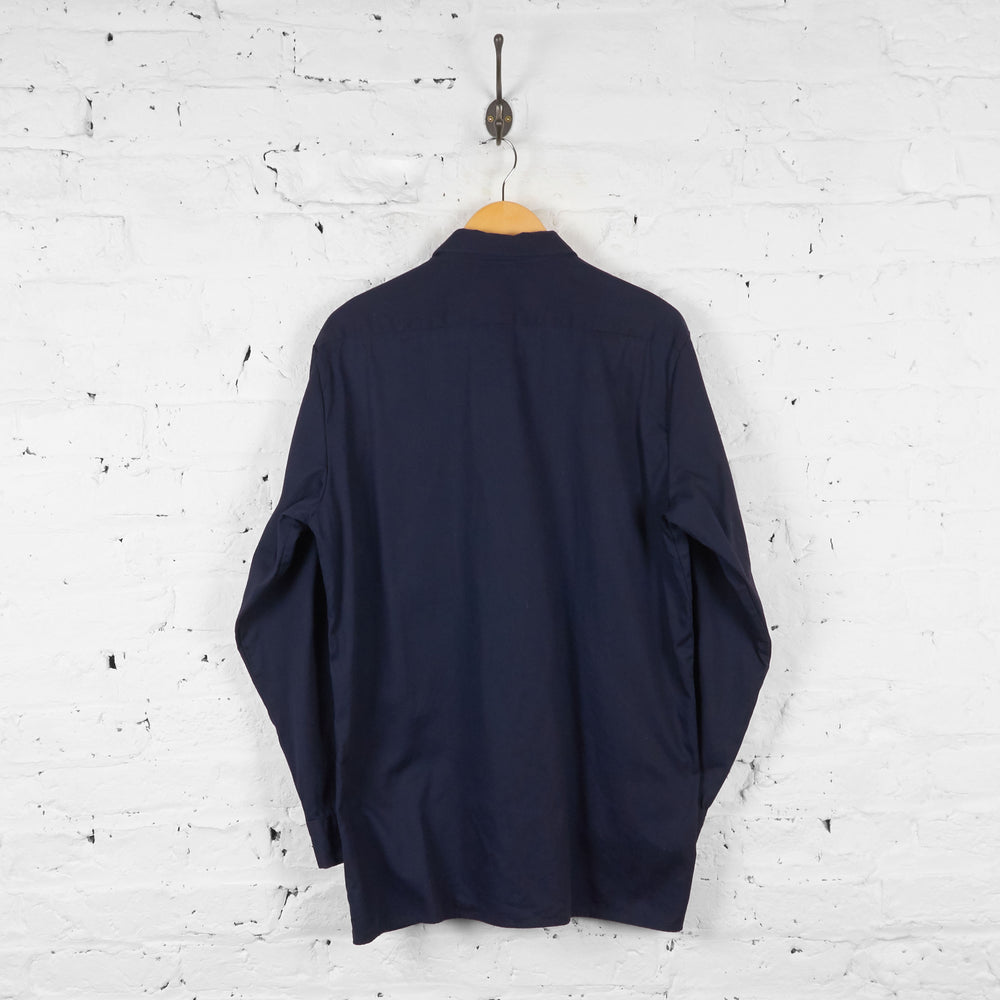 Dickies Utility Work Shirt - Blue - L - Headlock