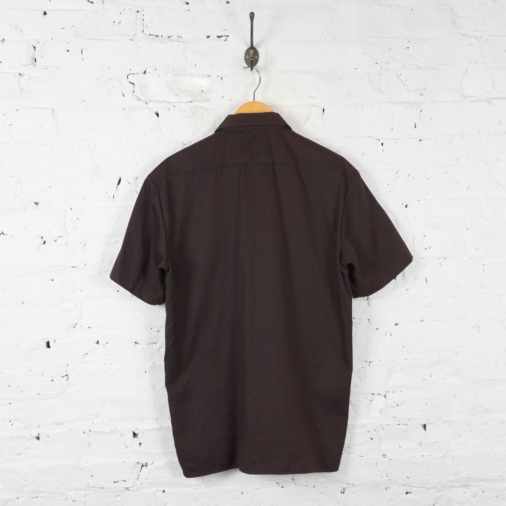 Dickies Utility Work Shirt - Brown - M - Headlock