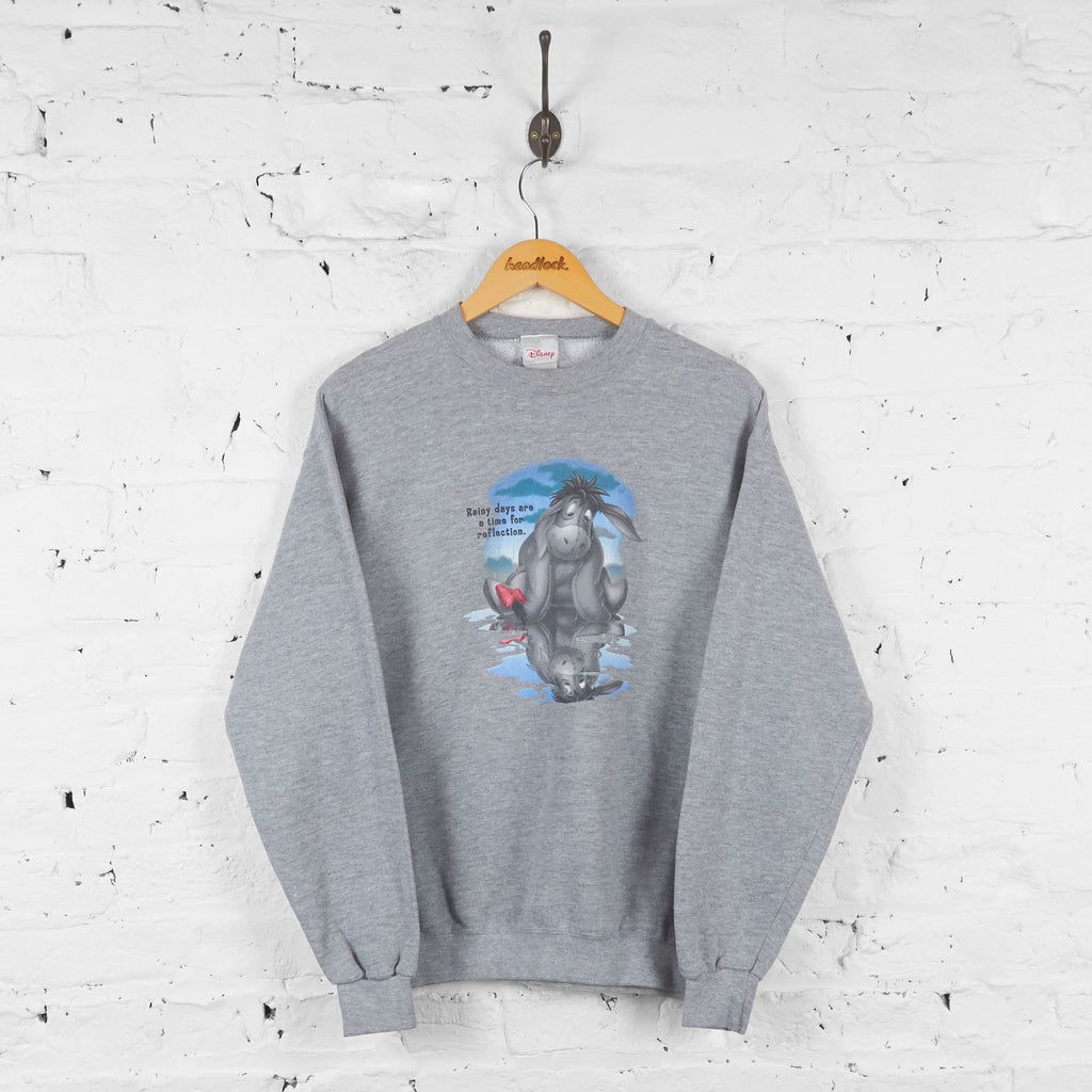 Disney Eeyore Sweatshirt - Grey - M - Headlock