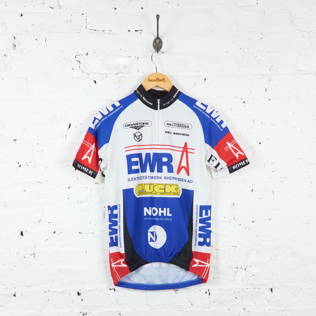 EWR Cycling Top Jersey - Blue - L - Headlock