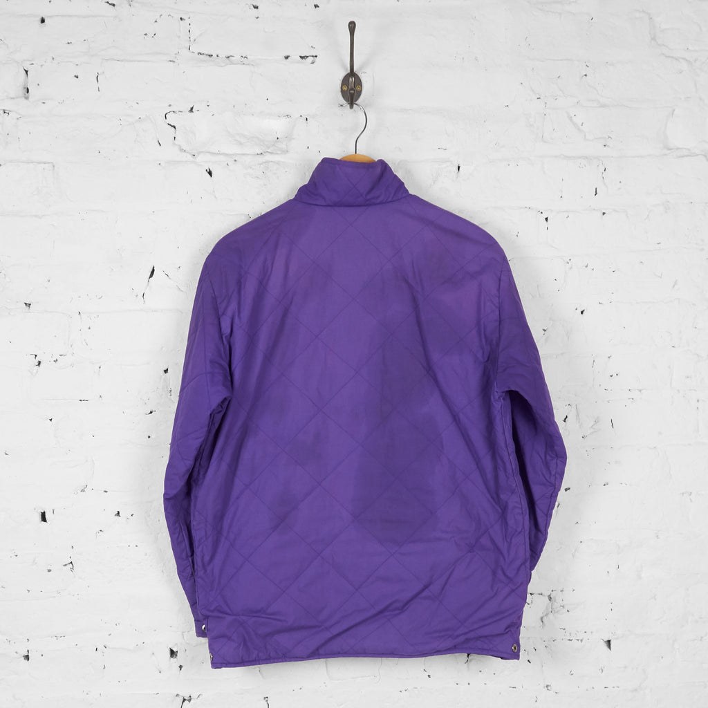 Fila Magic Line 80s Fleece Reversible Jacket - Purple - L - Headlock