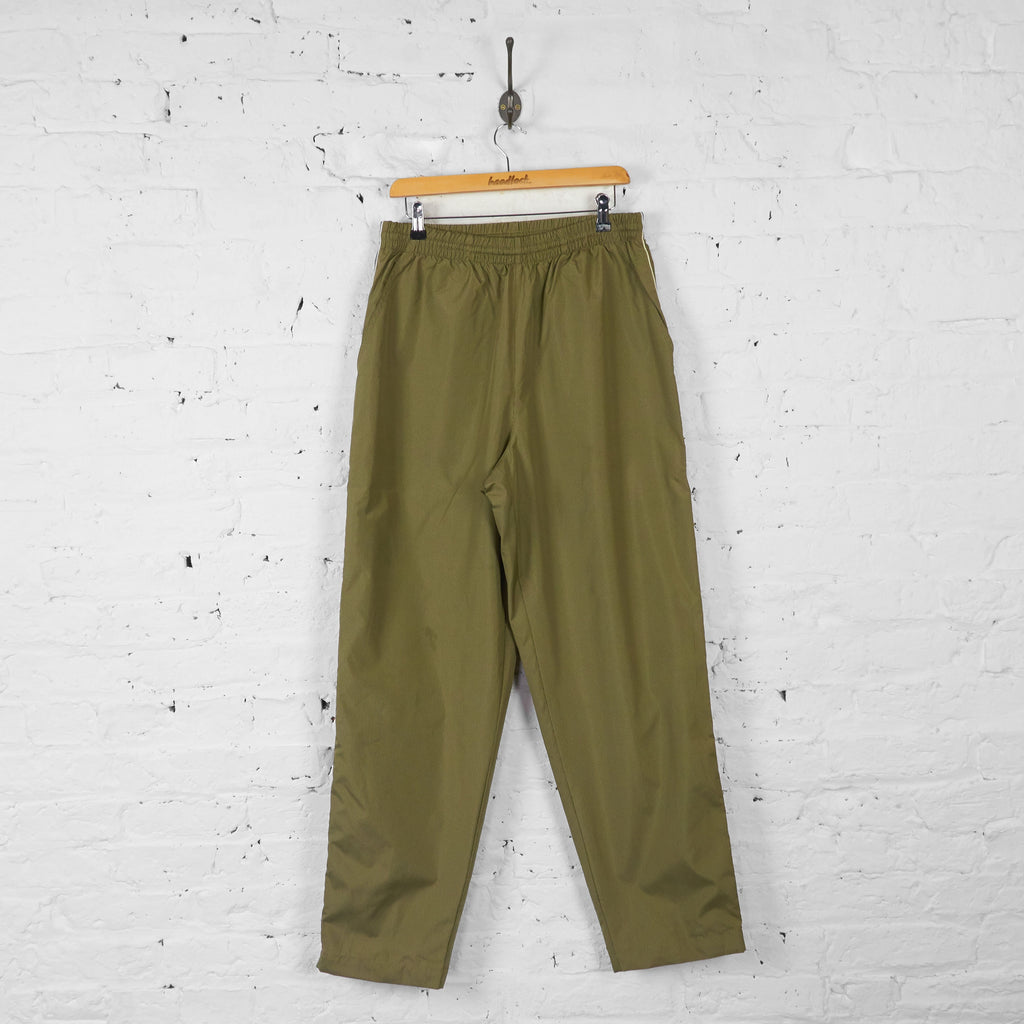 Fila Waterproof Tracksuit Bottoms - Green - L - Headlock