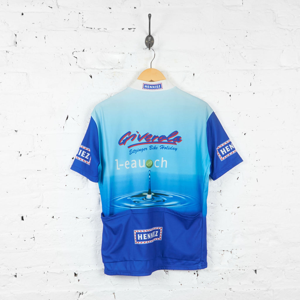 Giverola Henniez Cycling Top Jersey - Blue - XL - Headlock