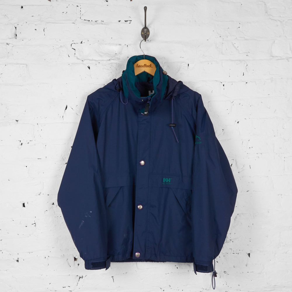 Helly Hansen Rain Jacket - Blue - S - Headlock