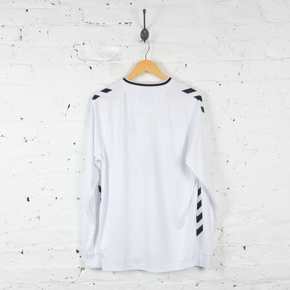 Hummel Launch 424 Storm CPH Football Shirt - White - L - Headlock