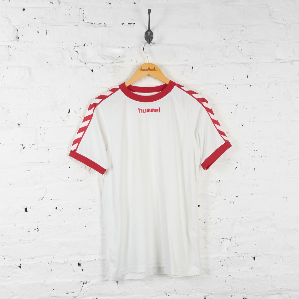 Hummel Template Football Shirt - White - L - Headlock
