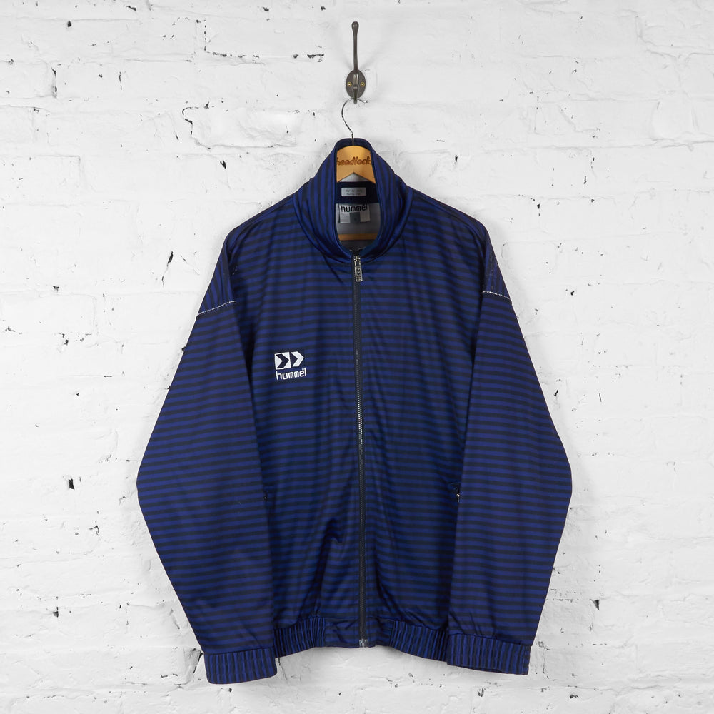 Hummel Tracksuit Top Jacket - Blue - XL - Headlock