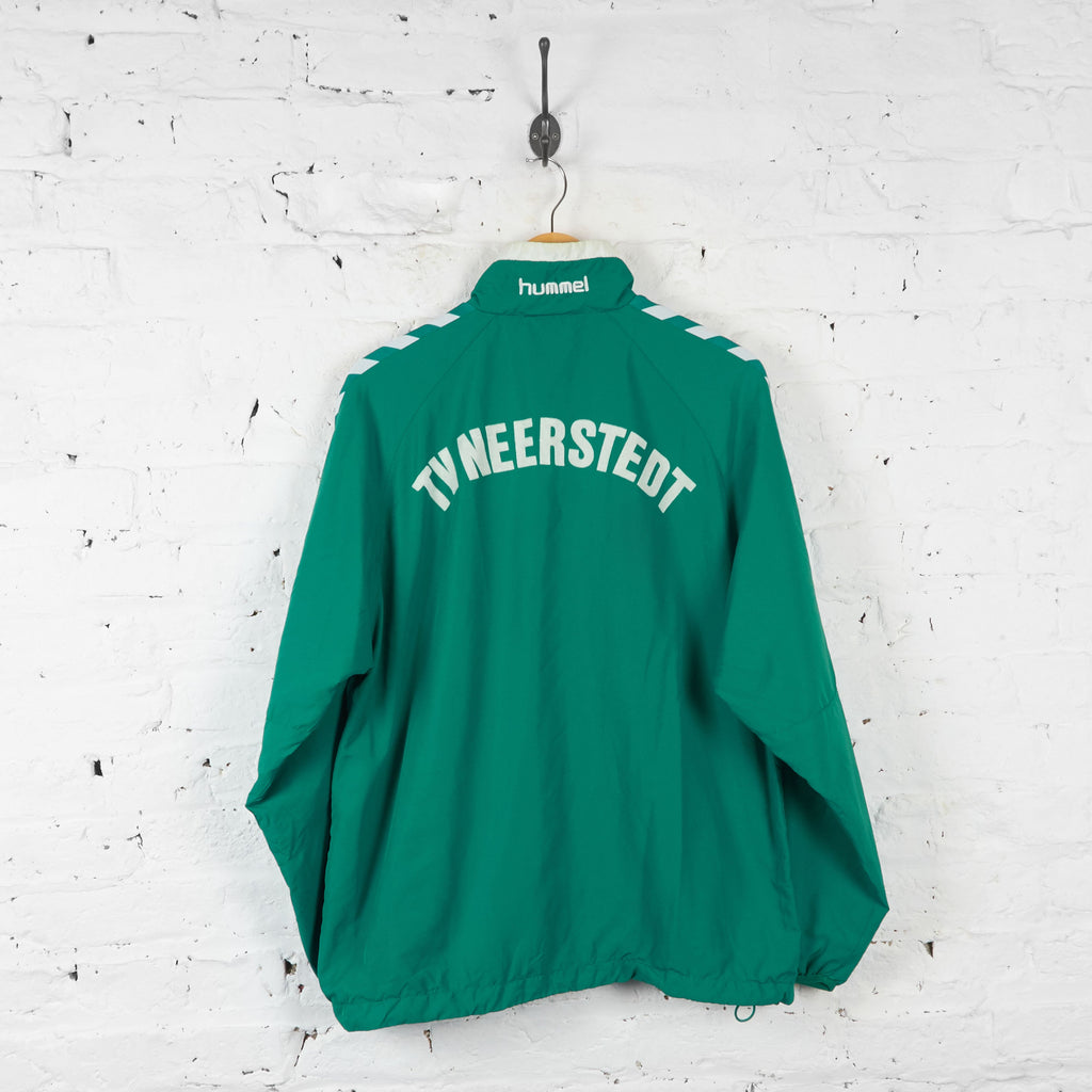 Hummel Tracksuit Top Jacket - Green - L - Headlock