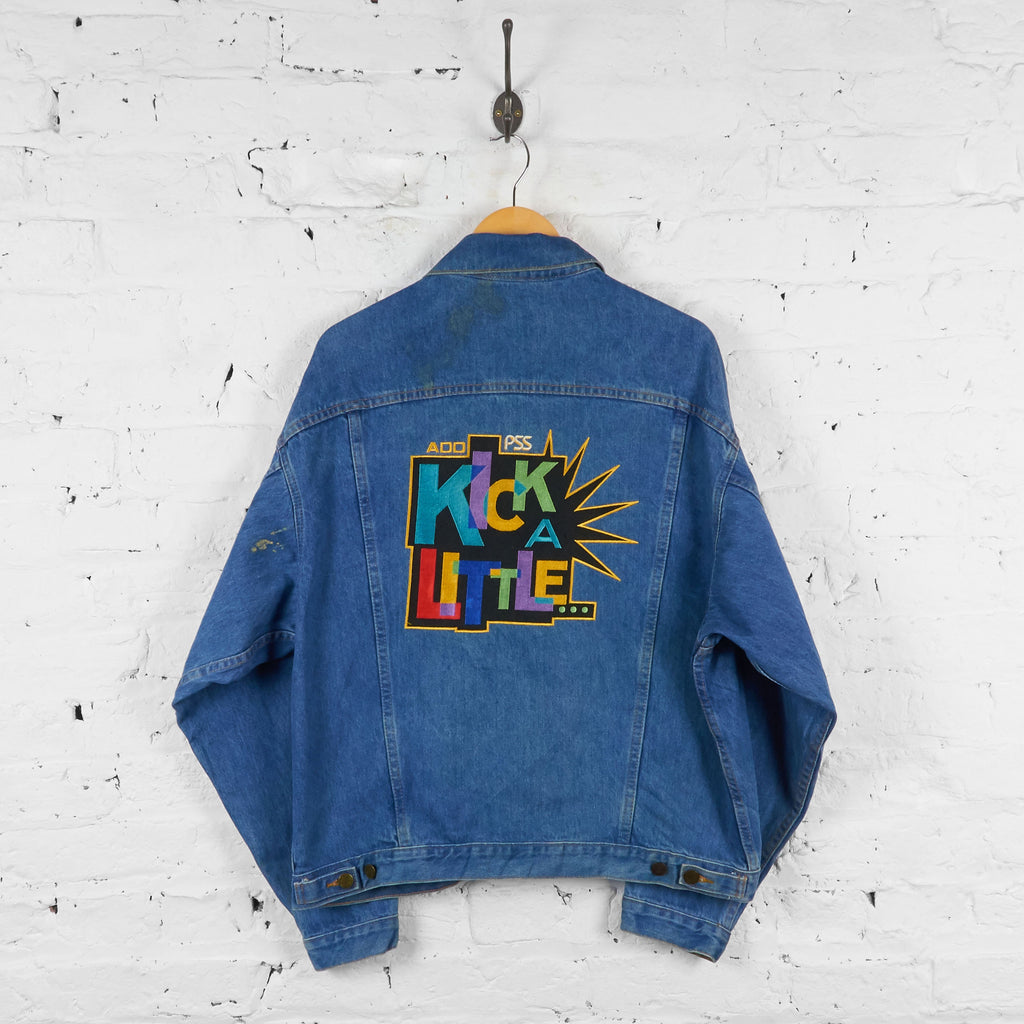 Kick a Little Denim Jacket - Blue - L - Headlock