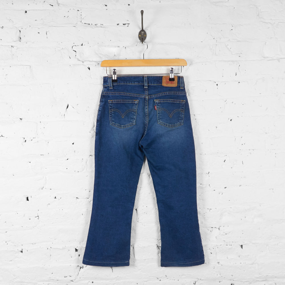 Kids Levis 517 Bootcut Jeans - Blue - M Girls - Headlock