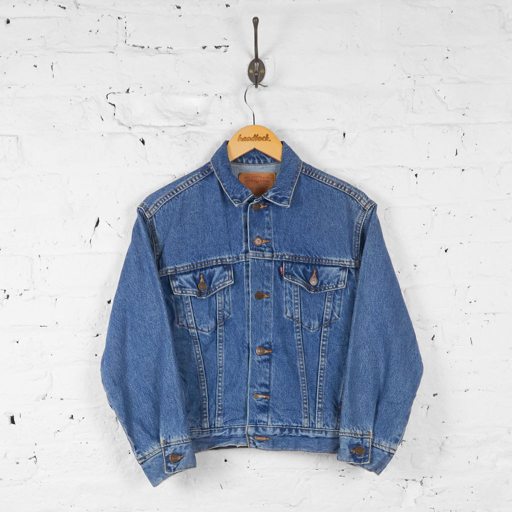 Kids Levis Denim Jacket - Blue - M Boys - Headlock