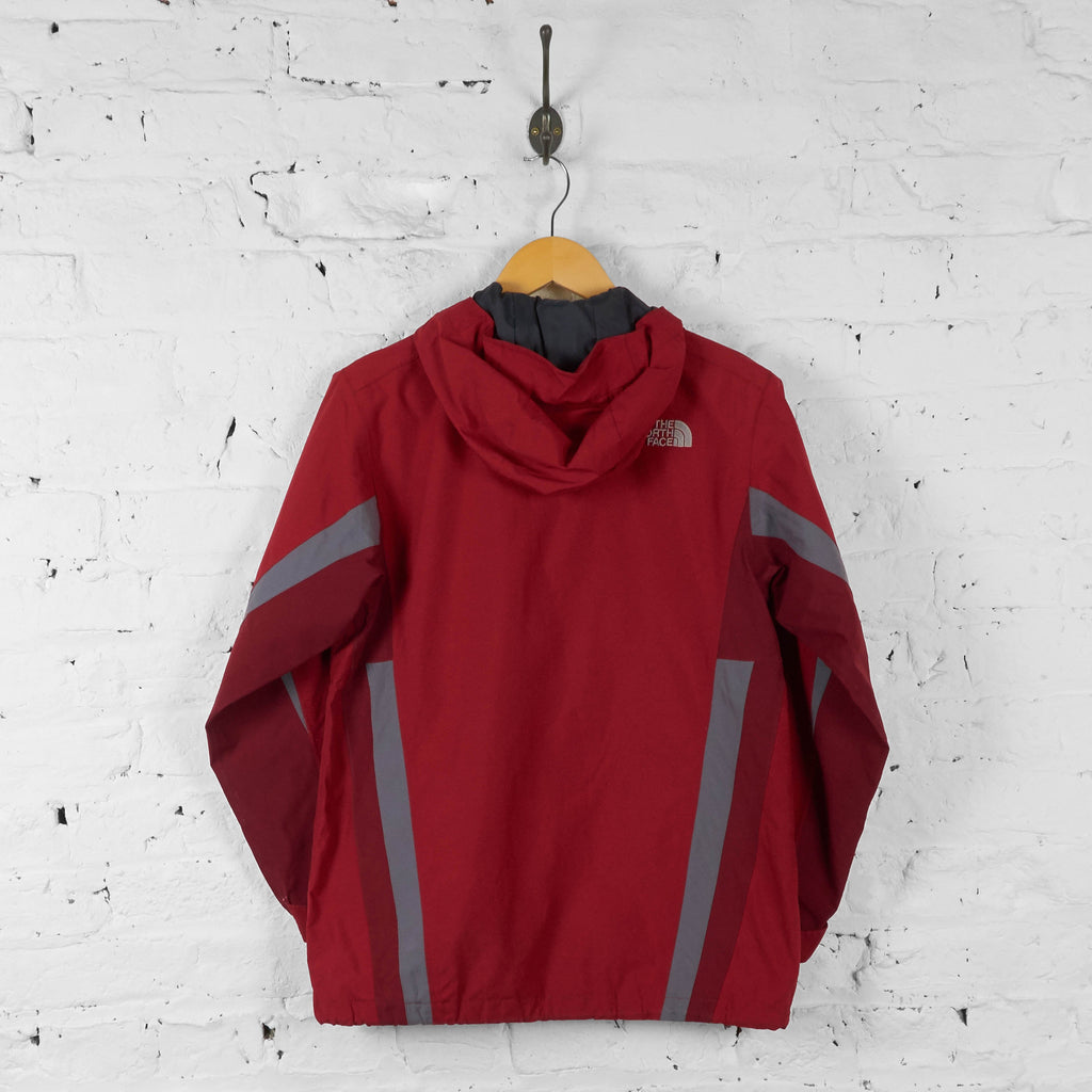 Kids The North Face Rain Jacket - Red - L Boys - Headlock